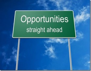 Opportunities Straight Ahead