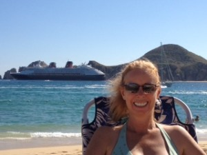 Lynn Pierce Medano Beach in Cabo Thanksgiving