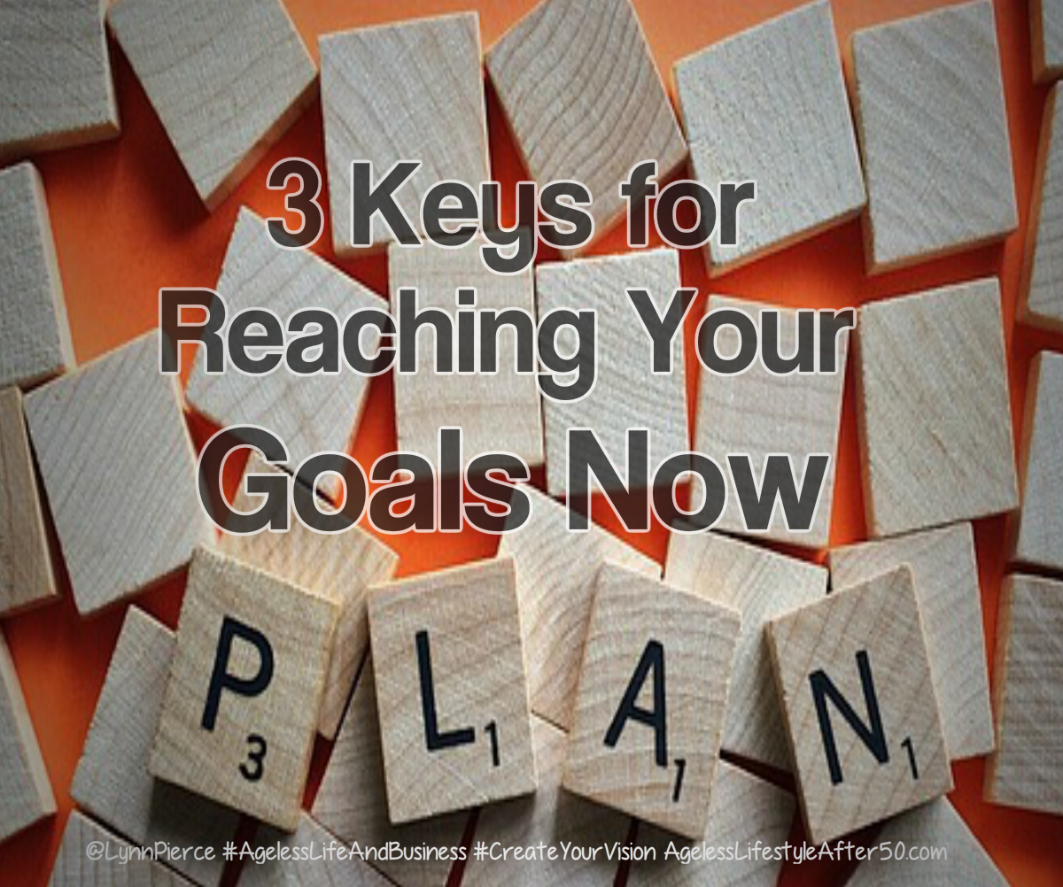 3 Keysto Reaching Your Goals Now
